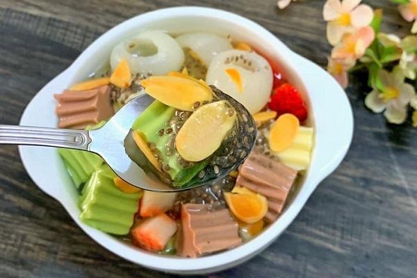 Cách làm chè khúc bạch phô mai, nấu chè khúc bạch bằng bột rau câu không cần gelatin đơn giản nhất tại nhà