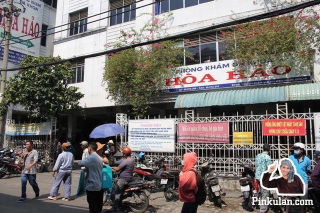 Thực trạng đi khám bệnh tại bệnh viện Hòa Hảo (thực tế)