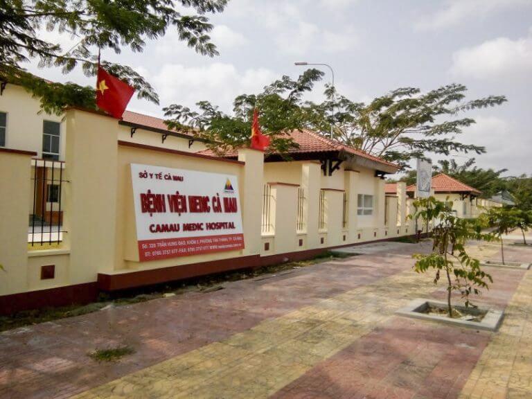 Bệnh viện Medic Cà Mau được xây dựng.