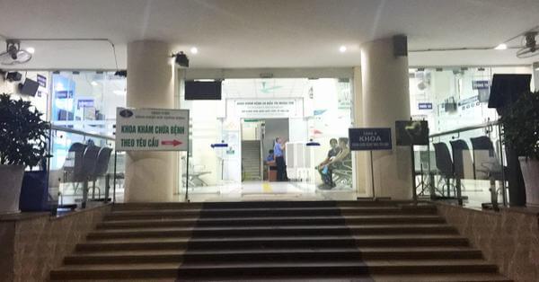 Bệnh viện Bệnh nhiệt đới Trung ương nhận khám và điều trị các bệnh truyền nhiễm và nhiệt đới nói chung