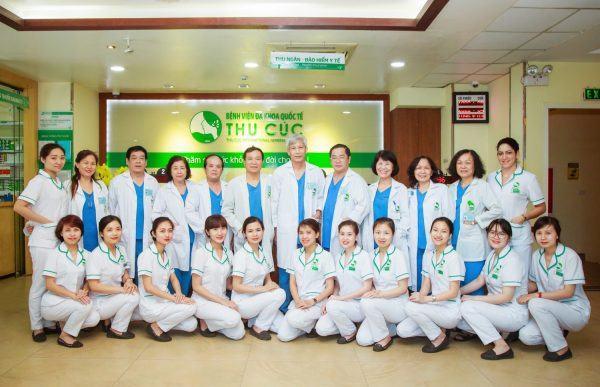 Bệnh viện Đa khoa Quốc tế Thu Cúc quy tụ đội ngũ bác sĩ giỏi chuyên môn, được đánh giá cao về chất lượng khám chữa bệnh