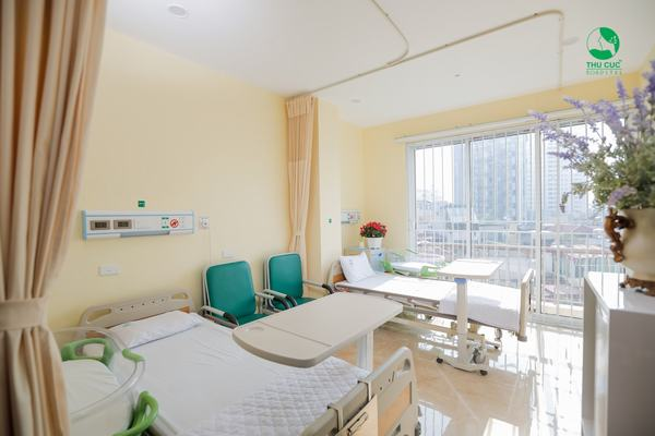 Phòng lưu viện mà mẹ bầu nghỉ ngơi sau khi sinh