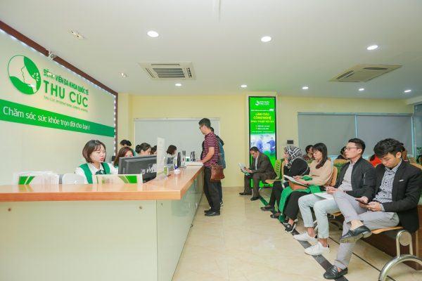 Bệnh viện Thu Cúc được đông đảo khách hàng tin chọn