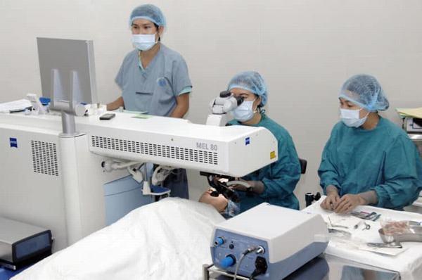 Bệnh viện mắt điện biên phủ có khám ngoài giờ không, có khám thứ 7 chủ nhật không?
