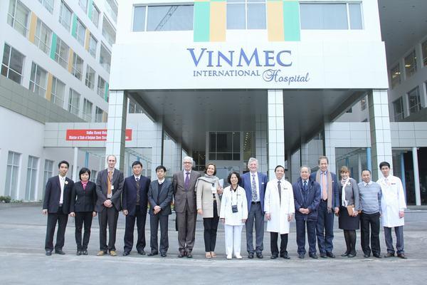 Bệnh viện đa khoa quốc tế Vinmec 458 Minh Khai, Hai Bà Trưng, Hà Nội