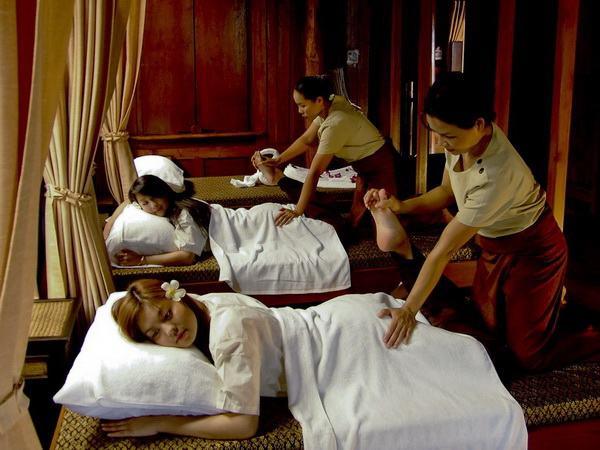 Thông qua xoa bóp bấm huyêt kiểu Thái ta có thể giải trừ mỏi mệt, phục hồi thể năng