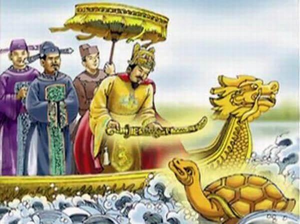 Trong các truyền thuyết về lịch sử dân tộc, lịch sử đấu tranh dựng nước và giữ nước, rùa (thần Kim Quy) không chỉ xuất hiện một lần mà rất nhiều lần qua nhiều câu chuyện.