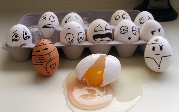 Nằm mơ thấy trứng liên quan đến những con số nào?