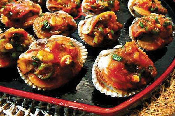 Cách làm món ăn ngon: Sò huyết sốt chua ngọt