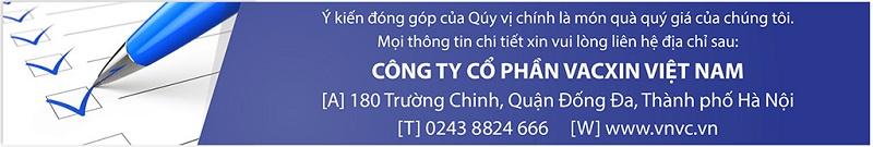 Hệ thống tiêm chủng Vacxin Việt Nam VNVC