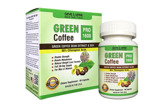 Thực phẩm chức năng của Mỹ Green Coffee