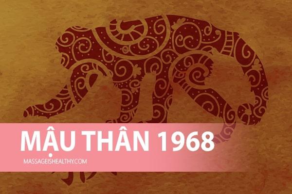 [Mậu Thân 1968] Sinh năm 1968 mệnh gì tuổi gì hợp màu gì, sinh năm 68 hợp hướng nào bao nhiêu tuổi