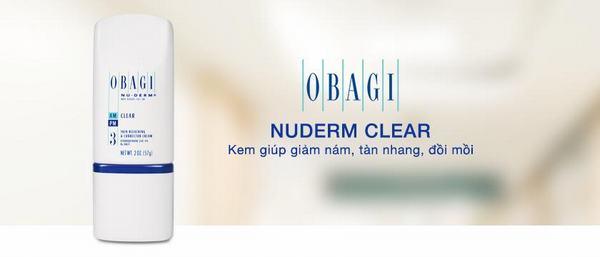 Đặc trị ban ngày Obagi Clear với 4 % Hydroquinone