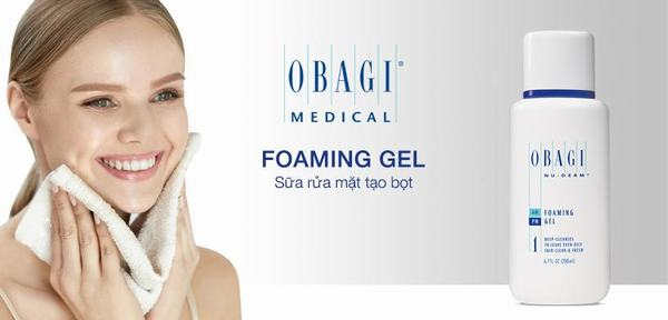Foaming Gel sữa rửa mặt làm sạch da (cho da nhờn, thường)
