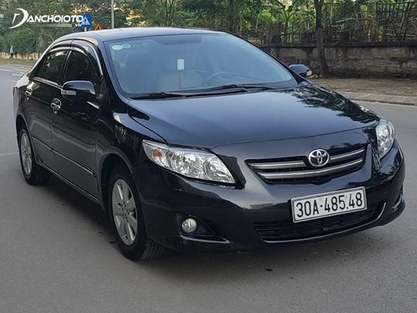 Giá xe Toyota Corolla Altis cũ 2009 từ 370 triệu đồng đến 510 triệu đồng