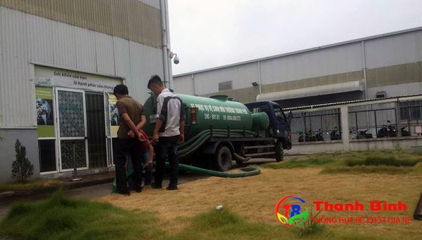 Sử dụng dịch vụ thông hút bể phốt tại Hà Nội chất lượng của Thanh Bình