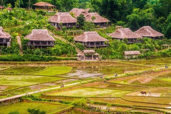 Top 10 khu nghỉ dưỡng xanh, ngập tràn thiên nhiên ở Việt Nam