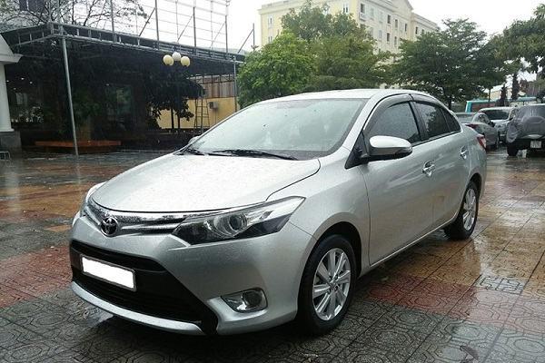 Xe Toyota Vios 2014 - 2015 là xe Toyota cũ giá 400 triệu vận hành bền bỉ theo năm tháng