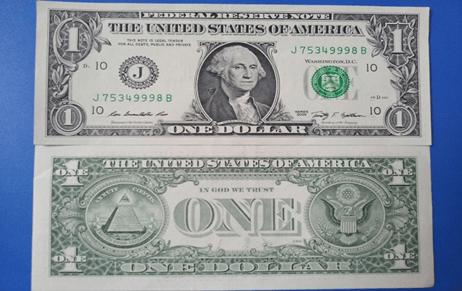 Tiền lì xì Tết 1 USD, 2 USD