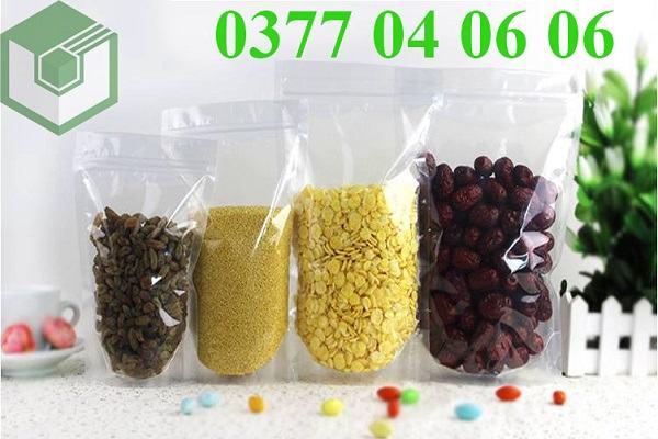 Sản phẩm túi zipper đựng hạt muồng tại Vietbox luôn được khách hàng tin dùng