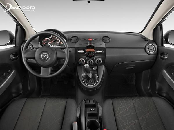 Xe Mazda 2 cũ trang bị tiện nghi hiện đại