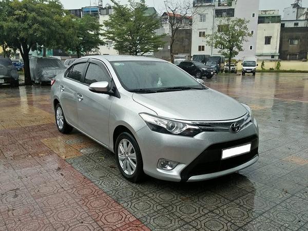 Vios là chiếc xe Toyota giá 400 triệu có khoang cabin và hành lý rộng rãi