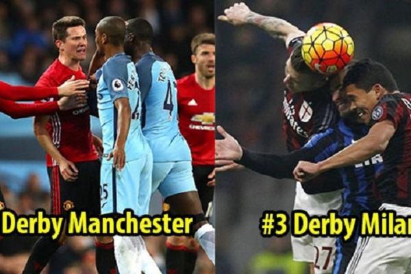 Derby là gì ? Danh sách các trận Derby trong bóng đá