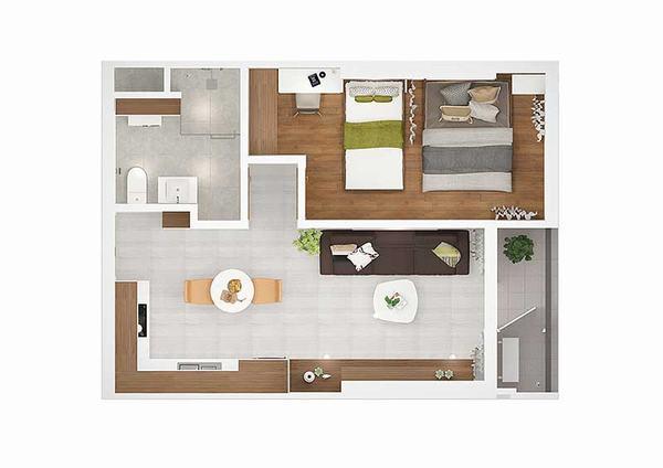 Cho thuê căn hộ Kingdom 101 dự án chung cư cao cấp tại quận 10 Tập đoàn Hoa Lâm 14