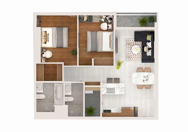 Cho thuê căn hộ Kingdom 101 dự án chung cư cao cấp tại quận 10 Tập đoàn Hoa Lâm 13