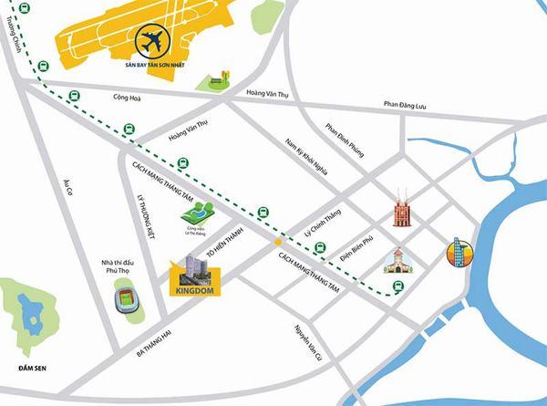 Cho thuê căn hộ Kingdom 101 dự án chung cư cao cấp tại quận 10 Tập đoàn Hoa Lâm 5