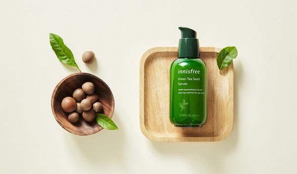 Trải nghiệm hiệu quả tuyệt vời của serum Innisfree Green Tea Seed