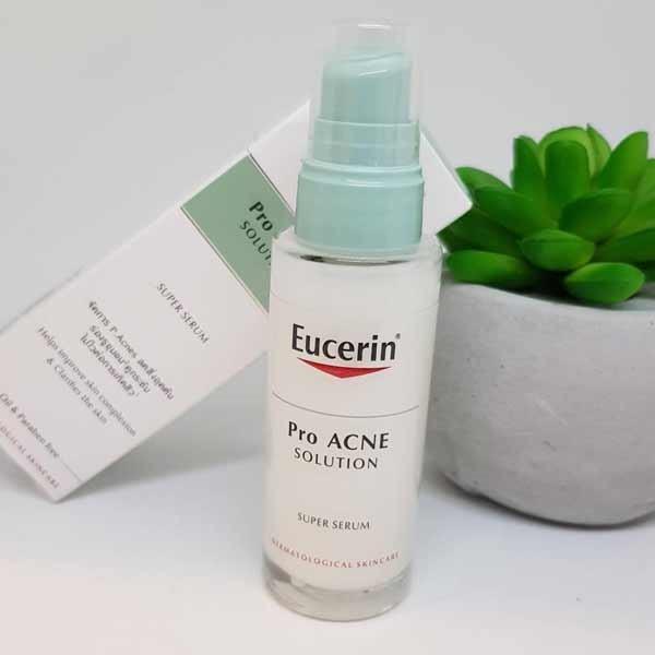 Lựa chọn mới với serum trị mụn Eucerin ProAcne Solution Super