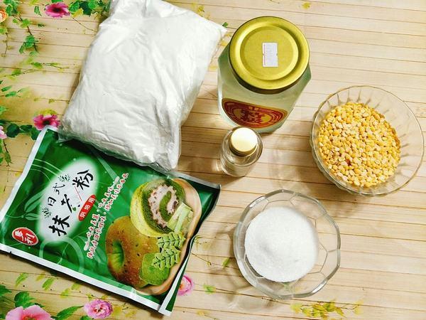 Nguyên liệu làm bánh trung thu nhân đậu xanh