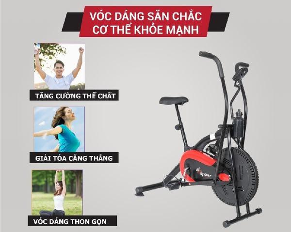 Cơ thể khỏe mạnh nhờ đạp xe thường xuyên