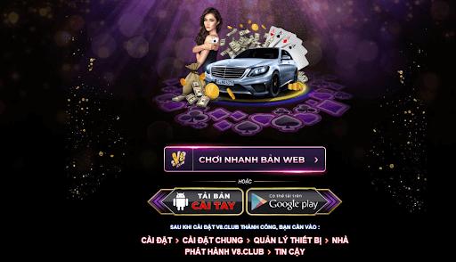 Game bài đổi thưởng nạp SMS V8.club
