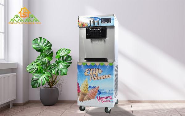 Máy làm kem ngày càng phổ biến