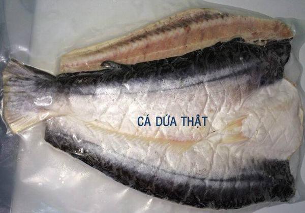 Cần phải phân biệt khô cá dứa 1 nắng thật giả