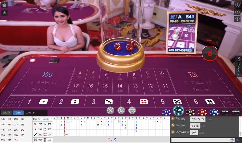 Kiếm tiền với Game tài xỉu Kubet