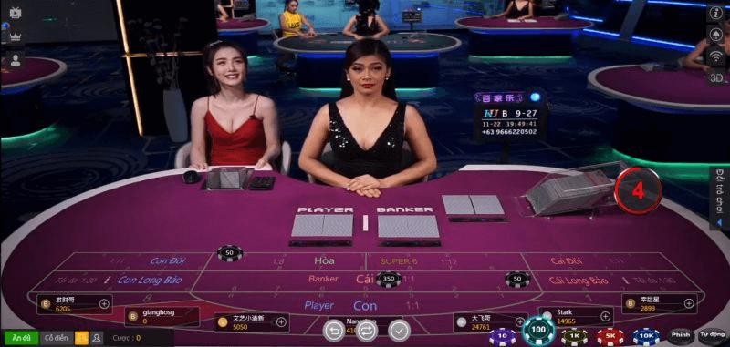 Kiếm tiền với Game Baccarat Kubet
