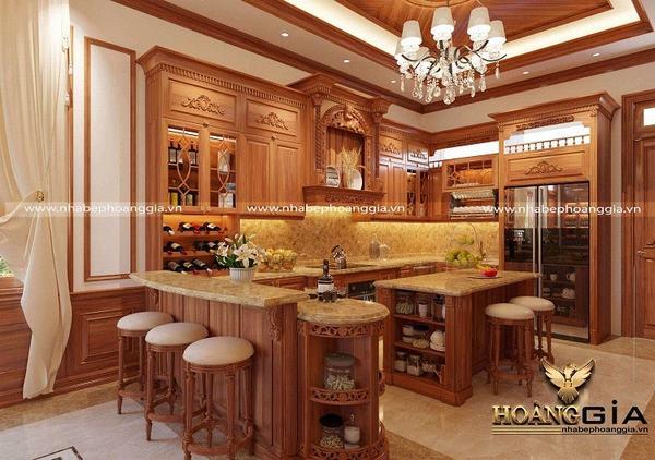Địa chỉ thiết kế thi công tủ bếp đẹp – uy tín nhất hiện nay 1