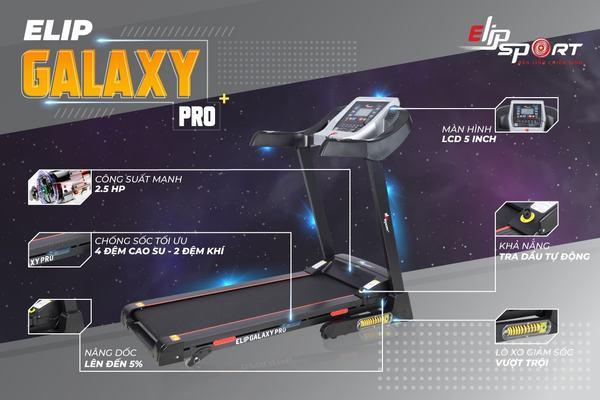 Máy chạy bộ điện đa năng ELIP Galaxy Pro