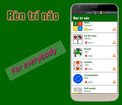 Trò chơi Rèn trí não trên Google Play