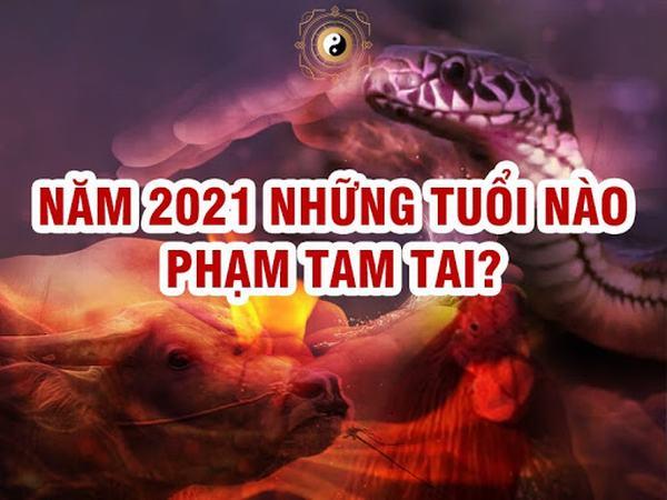Năm 2021 những tuổi nào phạm Tam Tai?