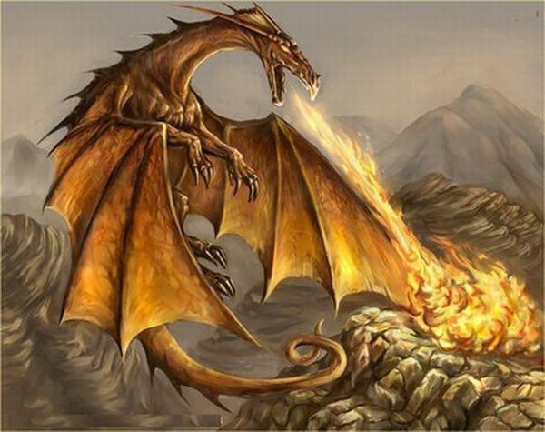 Mơ thấy rồng phun lửa