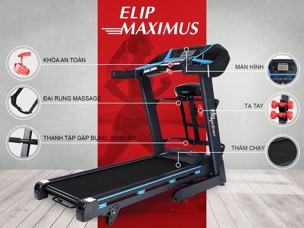 Máy chạy bộ điện ELIP Maximus