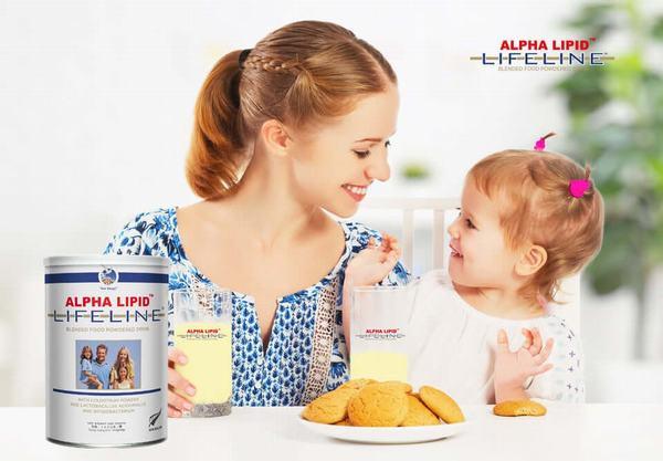 Đâu là công dụng đúng nhất về sữa non Alpha Lipid Lifeline 1
