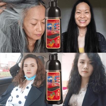 [SỰ THẬT] Dầu gội đen tóc phủ bạc giữ được bao lâu? 1