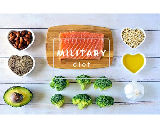 Chế độ ăn giảm cân hiệu quả Military diet